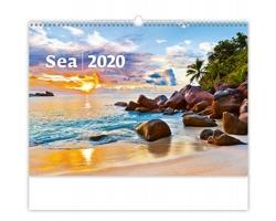 Nástěnný kalendář Sea 2020