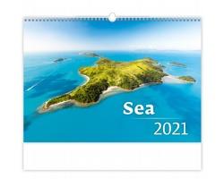 Nástěnný kalendář Sea 2021