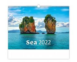 Nástěnný kalendář Sea 2022