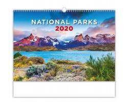 Nástěnný kalendář National Parks 2020