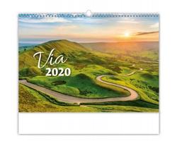 Nástěnný kalendář Via 2020