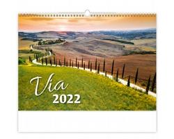 Nástěnný kalendář Via 2022