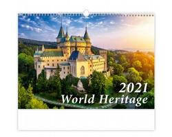 Nástěnný kalendář World Heritage 2021