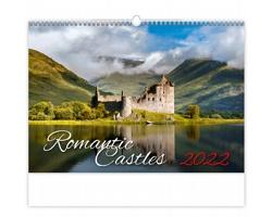 Nástěnný kalendář Romantic Castles 2022