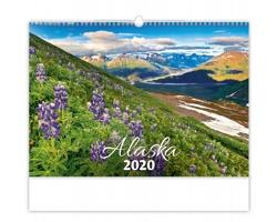 Nástěnný kalendář Alaska 2020