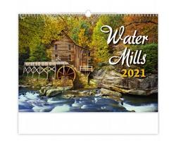 Nástěnný kalendář Water Mills 2021