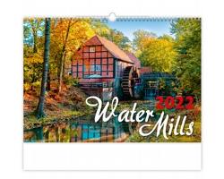 Nástěnný kalendář Water Mills 2022
