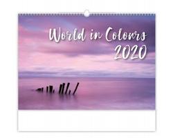 Nástěnný kalendář World in Colours 2020