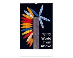 Nástěnný kalendář World from Above 2022