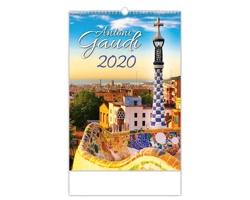 Nástěnný kalendář Antoni Gaudí 2020
