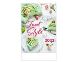 Nástěnný kalendář Food Style 2022