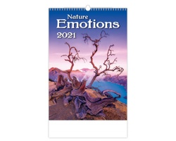 Nástěnný kalendář Nature Emotions 2021