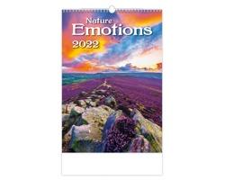 Nástěnný kalendář Nature Emotions 2022