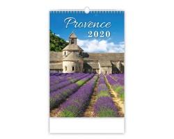 Nástěnný kalendář Provence 2020
