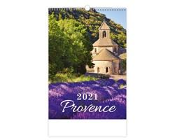 Nástěnný kalendář Provence 2021