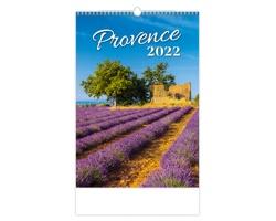 Nástěnný kalendář Provence 2022
