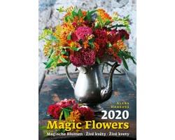 Nástěnný kalendář Magic Flowers / Magische Blumen / Živé květy / Živé kvety 2020