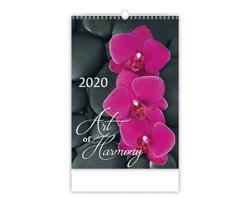 Nástěnný kalendář Art of Harmony 2020