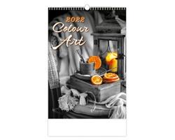 Nástěnný kalendář Colour Art 2022