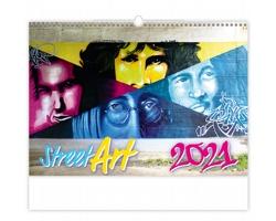 Nástěnný kalendář Street Art 2021