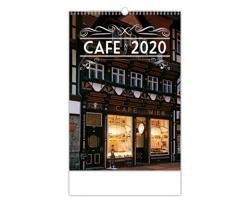 Nástěnný kalendář Cafe 2020