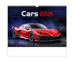 Nástěnný kalendář Cars 2021