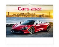 Nástěnný kalendář Cars 2022