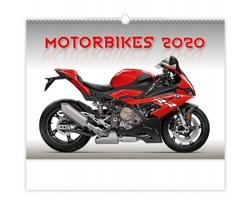 Nástěnný kalendář Motorbikes 2020