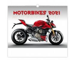 Nástěnný kalendář Motorbikes 2021