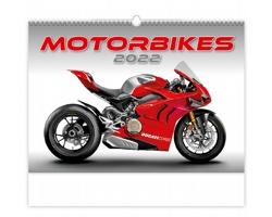 Nástěnný kalendář Motorbikes 2022