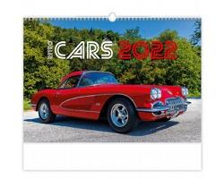 Nástěnný kalendář Retro Cars 2022