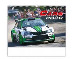 Nástěnný kalendář Race Cars 2020