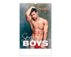 Nástěnný kalendář Sexy Boys 2020