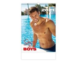 Nástěnný kalendář Sexy Boys 2021
