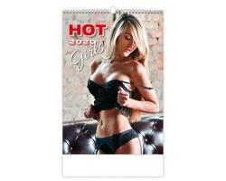 Nástěnný kalendář Hot Girls 2020