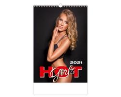 Nástěnný kalendář Hot Girls 2021