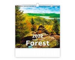 Nástěnný kalendář Forest/Wald/Les 2022