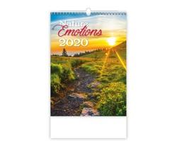 Nástěnný kalendář Nature Emotions 2020