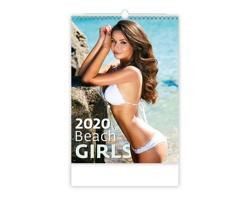 Nástěnný kalendář Beach Girls 2020
