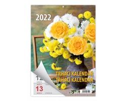 Nástěnný kalendář Týdenní trhací 2022 - A5