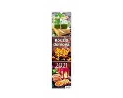 Nástěnný kalendář Kouzlo domova 2021 - vázanka