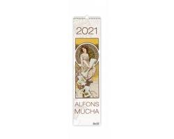 Nástěnný kalendář Alfons Mucha 2021 - vázanka