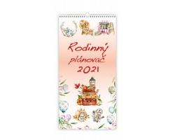 Nástěnný kalendář Rodinný plánovač 2021