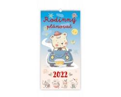 Nástěnný kalendář Rodinný plánovač 2022