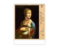 Nástěnný kalendář Leonardo da Vinci 2022