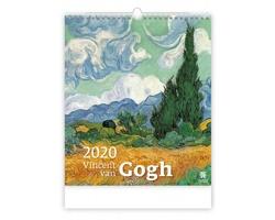 Nástěnný kalendář Vincent van Gogh 2020