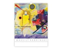 Nástěnný kalendář Wassily Kandinsky 2020