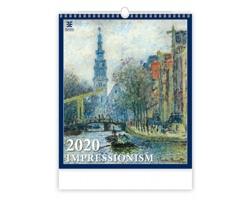 Nástěnný kalendář Impressionism 2020