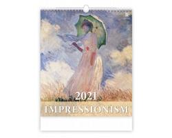 Nástěnný kalendář Impressionism 2021