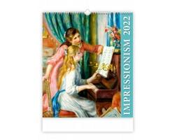 Nástěnný kalendář Impressionism 2022